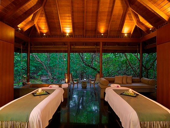 Couples treatment room at The Datai