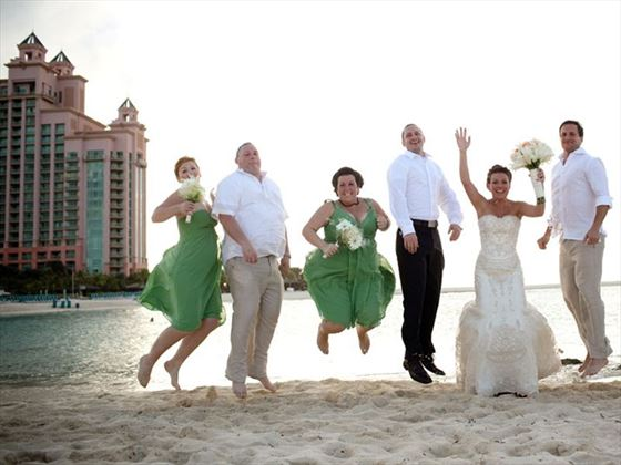 Great for wedding parties, The Cove Atlantis