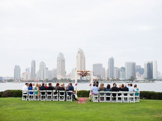 San Diego Skyline at Centennial Park