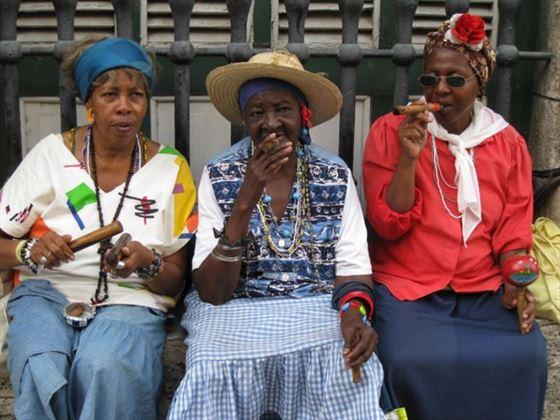 Cuban locals
