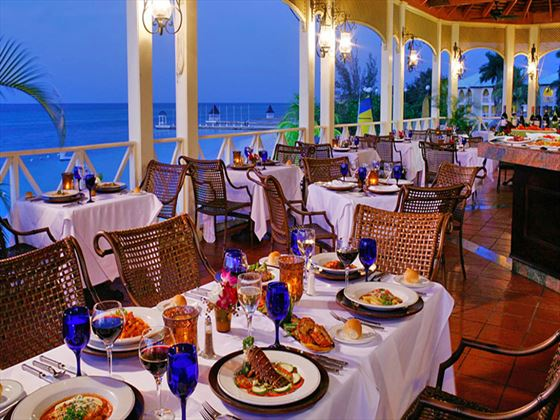 Cucina Romana restaurant at Sandals Montego Bay
