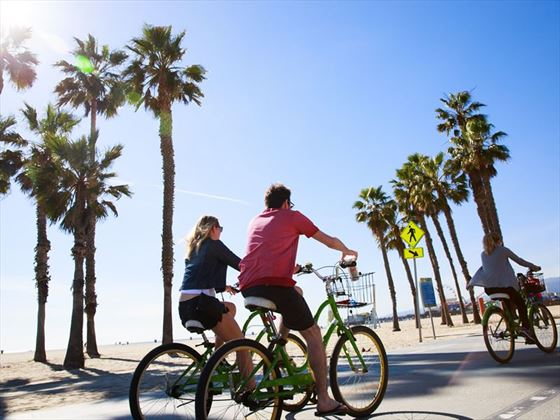 Cycling the South Bay Bike Trail in Santa Monica