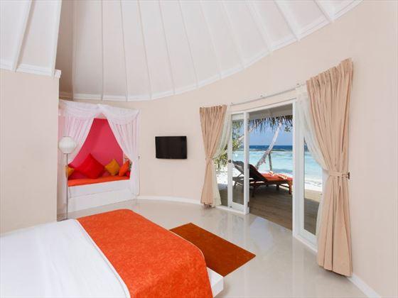 Deluxe Beach Villa at Vilu Reef Beach & Spa Resort