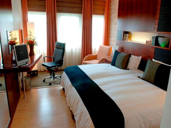 Deluxe Double Room at The Townhouse Hotel