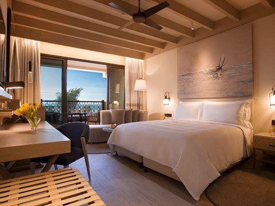 Deluxe King Sea View Room, Saadiyat Rotana