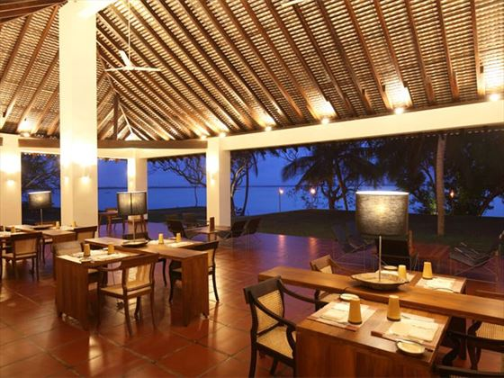 Dining at Jetwing Lagoon Negombo