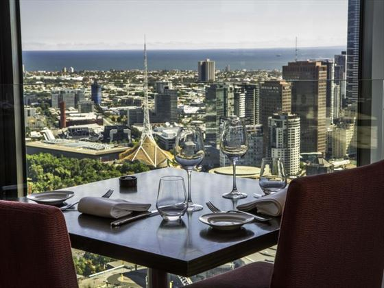 Dining with a view in No35