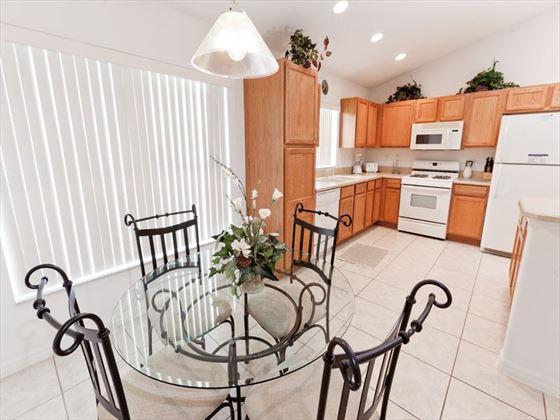 Disney Area Executive Homes Kitchen and Dining Area