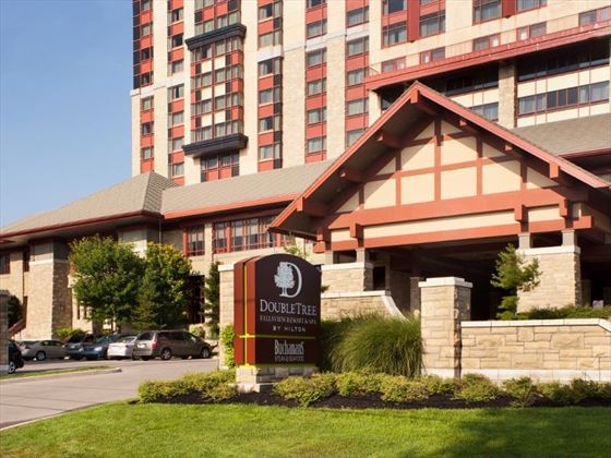 Exterior view of Doubletree Fallsview Resort & Spa by Hilton