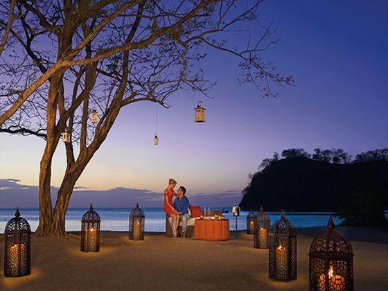 Honeymoon moments at Dreams Las Mareas