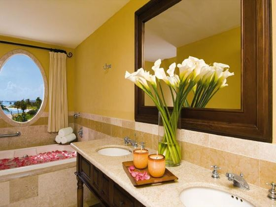 Dreams Tulum en-suite bathroom