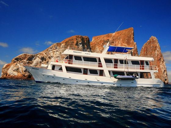 Cruise the Galapagos on board the Monserrat