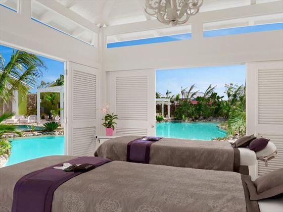 Treatment room at Solaya Spa