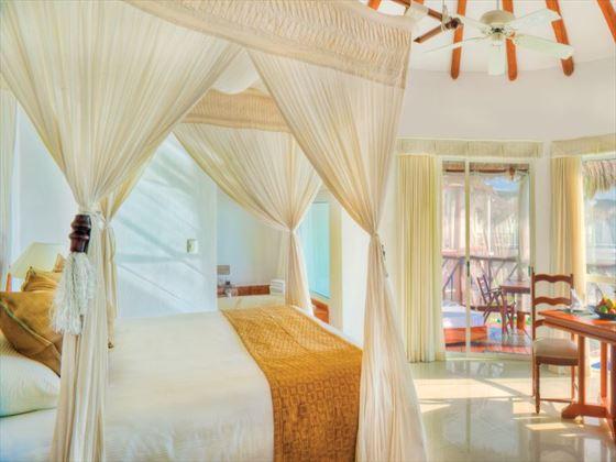Bedroom at Infinity Pool Casita Suite