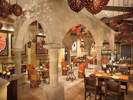 El Patio restaurant at Dreams Riviera Cancun Resort & Spa