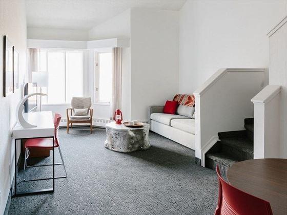 Elk + Avenue Hotel Loft Room
