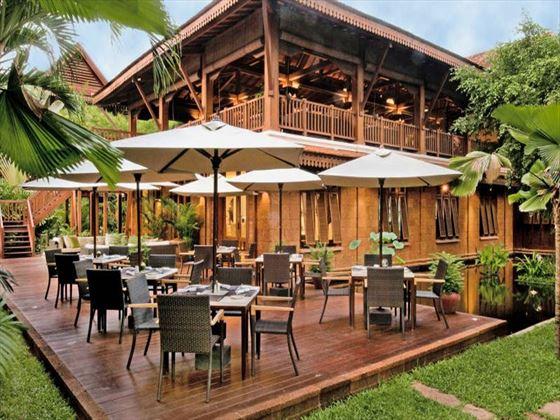 Ember restaurant at Belmond La Residence D'Angkor