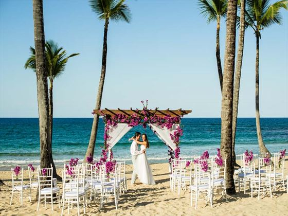 Wedding romance at Excellence Punta Cana