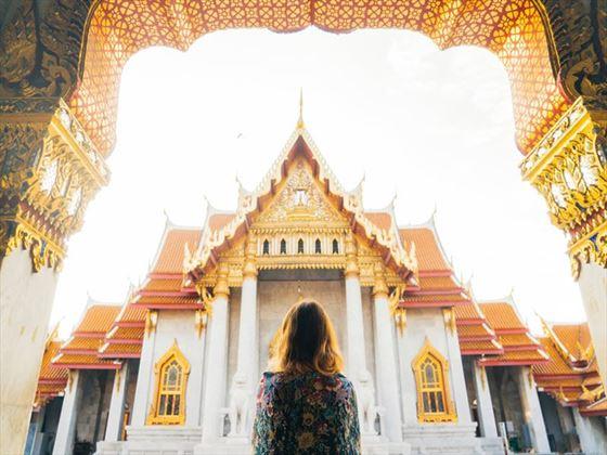 Exploring Wat Pho temple, Bangkok