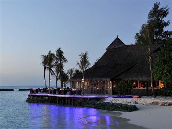 Exterior of Falhu restaurant at Komandoo Island Resort
