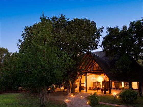 Exterior of Ngala Lodge