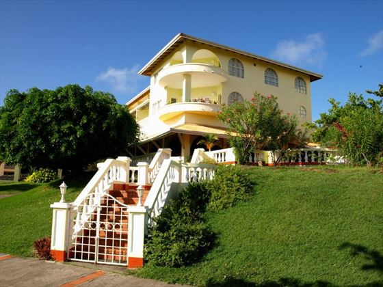 Exterior view of Grenadian by Rex Resorts