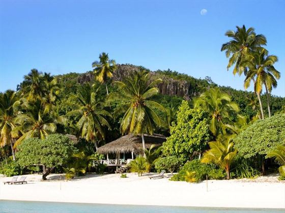 Exterior view of Pacific Resort Aitutaki secluded hideaway
