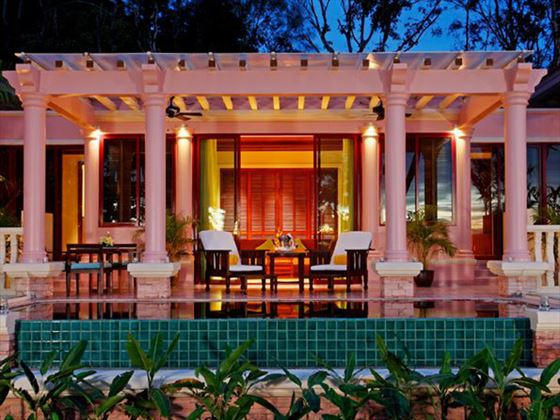 Exterior view of Premium Deluxe Room at Centara Grand Beach Resort Phuket