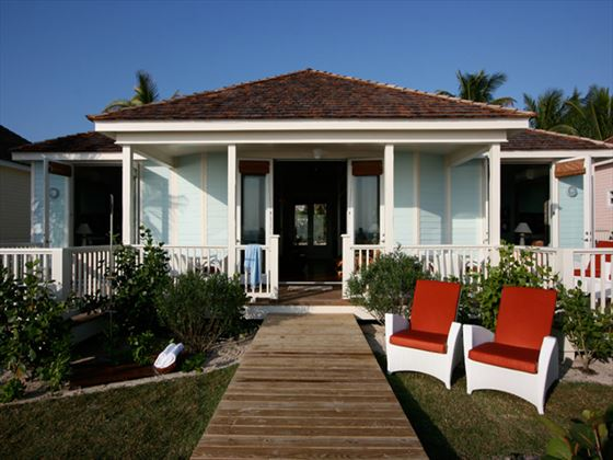 Exterior view of Sea Oats cottage at Coral Sands
