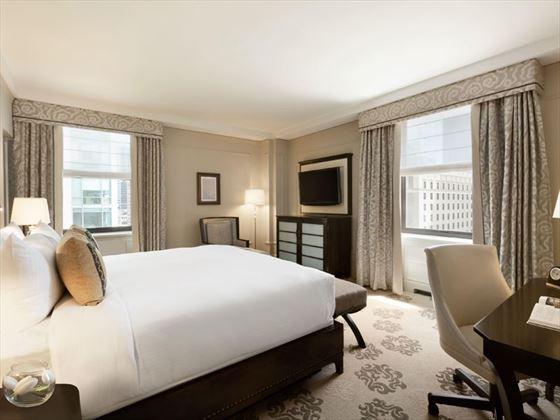 Fairmont Hotel Vancouver, Deluxe Corner Room