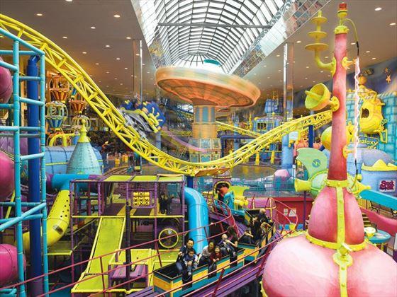 Galaxyland Amusement Park, Edmonton