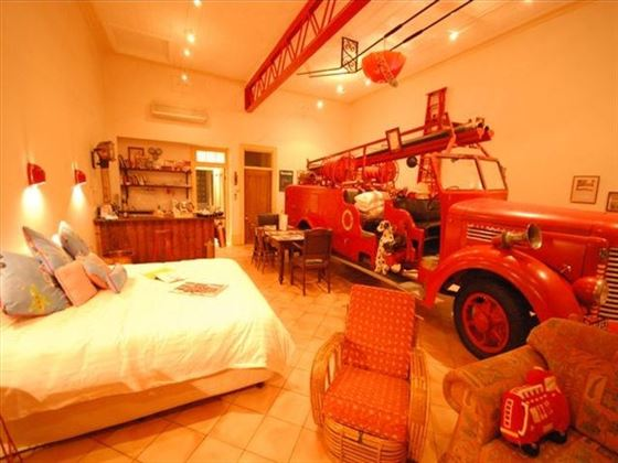 Fire Engine Suite at Fire Station Inn