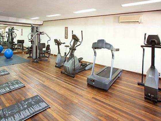 Fitness centre at Melia Benoa