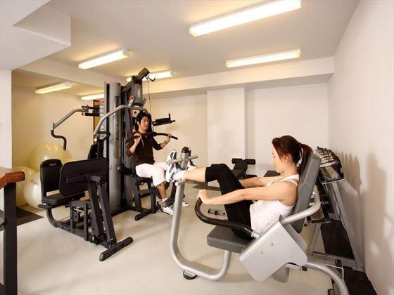 Fitness centre at KC Resort