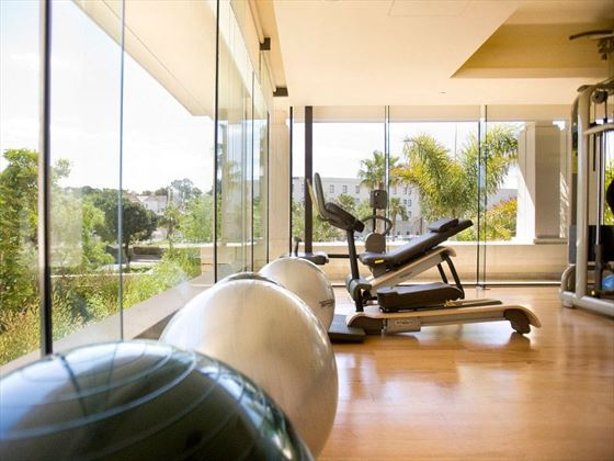Fitness centre at One&Only Cape Town