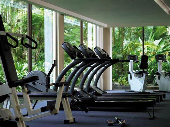 Fitness centre at Shangri-La Kuala Lumpur