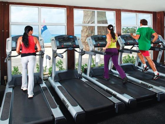 Fitness facilities at Divi Village All Inclusive Villas
