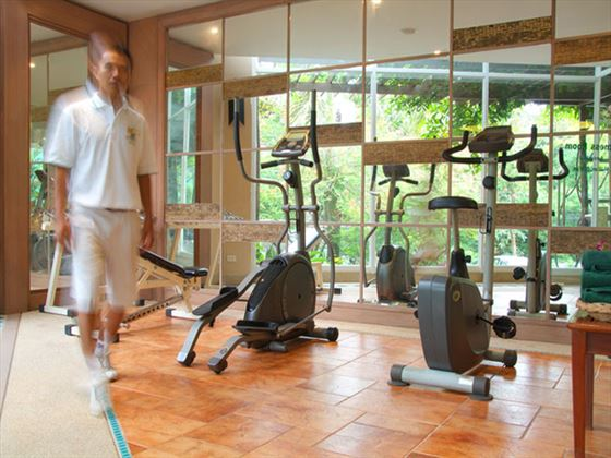 Fitness room at Pakasai Resort