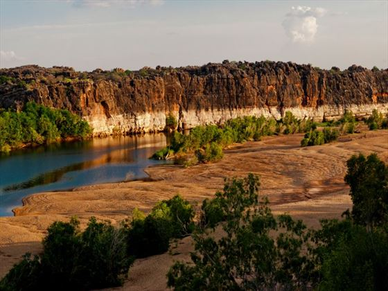 Fitzroy River and Geikie Gorge