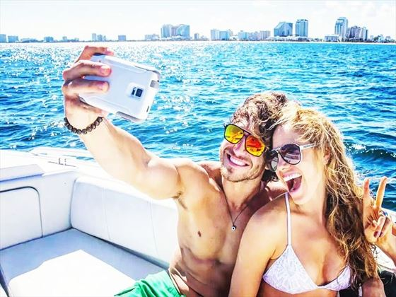 Fort Lauderdale selfie couple