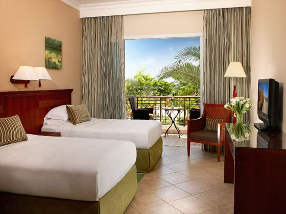 Fujairah Rotana Resort & Spa Premier Twin Room