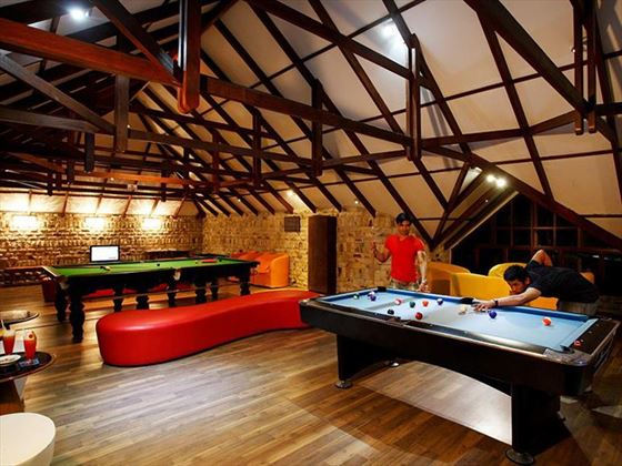 Games room at Centara Grand Island Resort & Spa