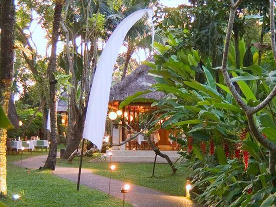 Gardens, Komaneka Monkey Forest, Ubud