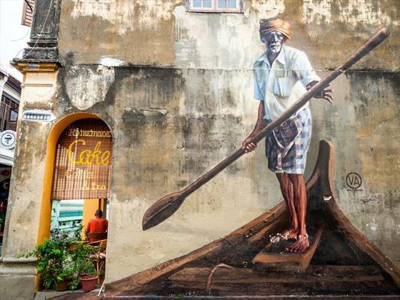 George Town street art, Malaysia