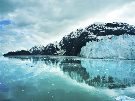 Glacier Bay in the mountains