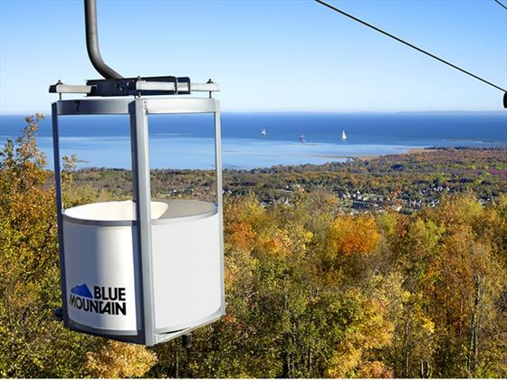 Gondola View, Blue Mountain Resort