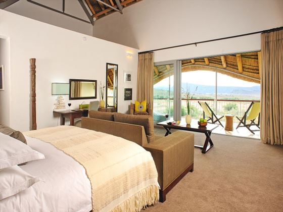 Gondwana Family Lodge bedroom