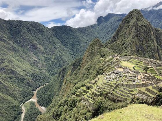 Gorgeous scenary Machu Picchu