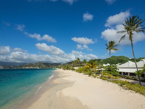 Grand Anse beach at Spice Island