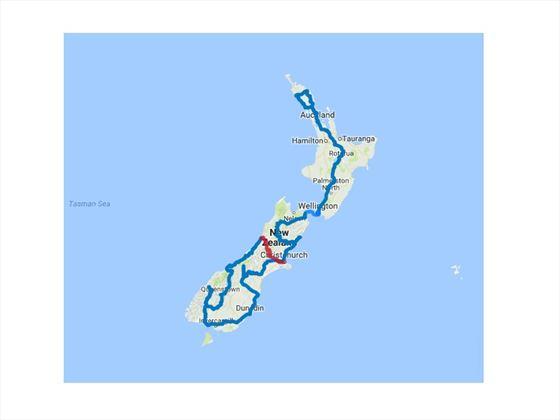 Grand New Zealand Self-Drive